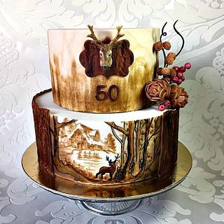 For hunter - Cake by Frufi