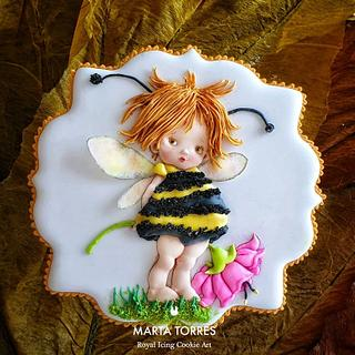 Bee...utiful ! - Cake by The Cookie Lab  by Marta Torres