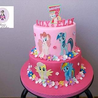 Little pony cake  - Cake by elenasartofcakes