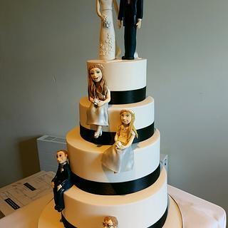 Wedding cake - Cake by Jenny Dowd