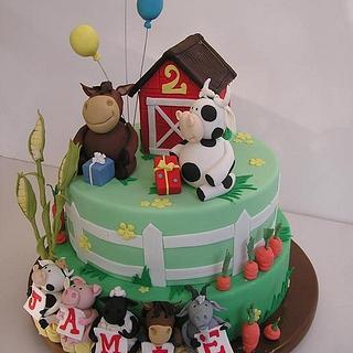 Farmyard birthday