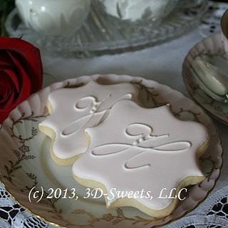 Bridal Shower Cookies - Cake by 3DSweets