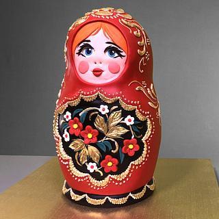 3D Matryoshka Doll Cake