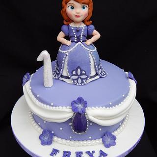 Purple Princess Sofia
