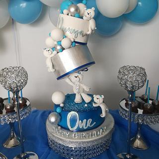 Baby  1 birthday cake