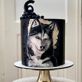Husky cake - Cake by SWEET architect