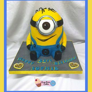 MINION!!! - Cake by Nomnomcakesbyamanda