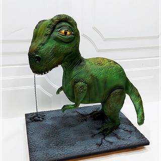 Dino 3D Cake - Cake by Piu Dolce de Antonela Russo