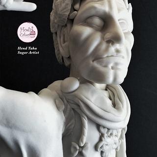 "Julius Caesar-""GrecoRoman"" International Cake Collaboration❤️"