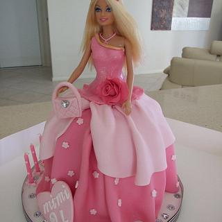 Barbie doll cake  - Cake by Dis Sweet Delights