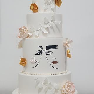 Wedding cake Ms&Mrs