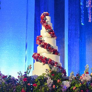 Floral Extravaganza  - Cake by Indulgence by Shazneen Ali