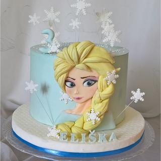 "Elza ""frozen""cake - Cake by Tortolandia"