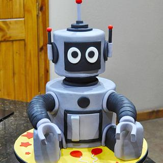 Mr. Robot - Cake by Cakes For Fun