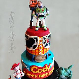 Toy Story Icing Smiles Cake
