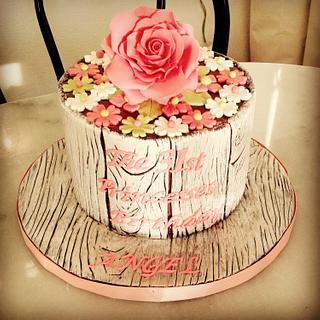 31st lady birthday cake