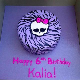 Monster High Clawdeen Wolf cake - Cake by Mimi's Sweet Shoppe Amanda Burgess