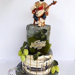 Montenegro cake