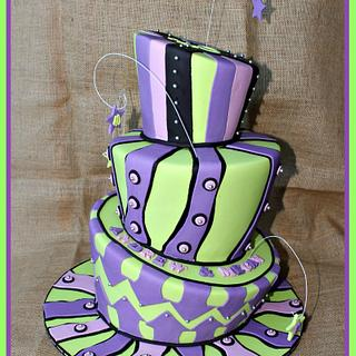 Just a little Mad - Cake by Cakes by Design