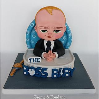 The baby boss cake.