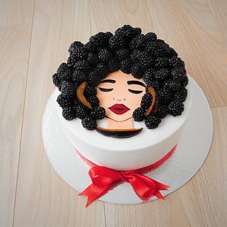 Fruit inspiration  - Cake by Janka