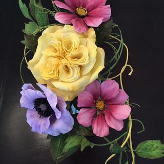 Sugar garden flowers