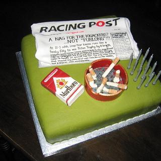 Leap Year Lou's birthday cake - Cake by femmebrulee