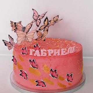 Butterfly's cake - Cake by BoryanaKostadinova