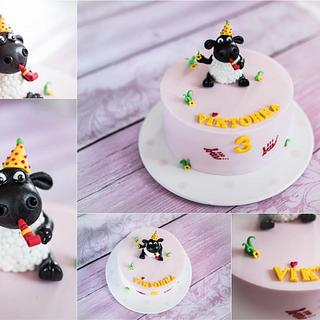 Sweet sheep :-) with whistle - Cake by Lucie
