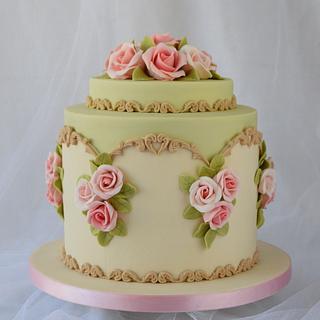 24th Anniversary Cake