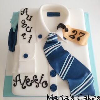 Shirt and Tie Cake...