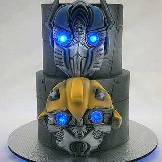 Transformers cake - Cake by Natalia Casaballe
