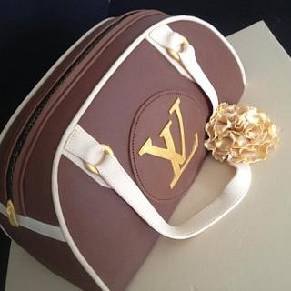 Louis Vuitton handbag my Nemesis cake - Cake by Unusual cakes for you