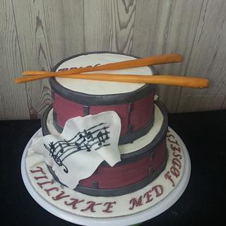 Drum cake - Cake by Gabriela Angelova