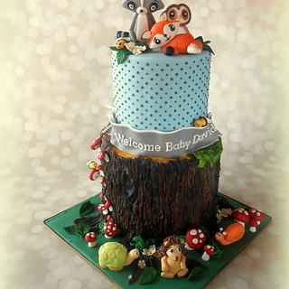 Woodland Animal Baby Shower