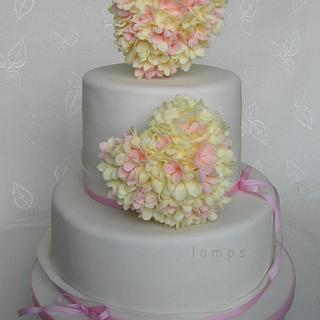hearts of florets - Cake by lamps