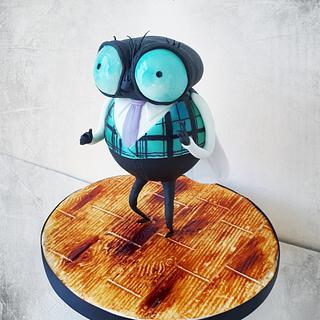 Fly - Hotel Transylvania - Cake by Ania - Sweet creations by Ania