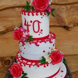 Rubin´s wedding day - Cake by Gabriela Rüscher
