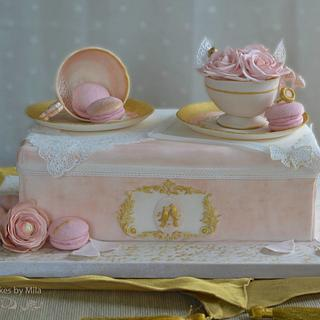 A sweet wedding proposal - Cake by Mila - Pure Cakes by Mila