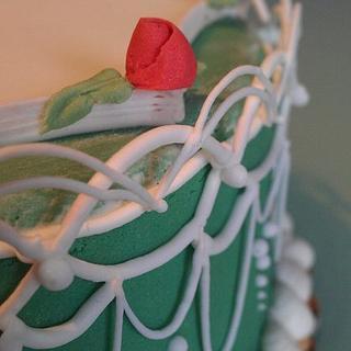 Roses and royal icing