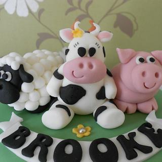 Farmyard cake :)