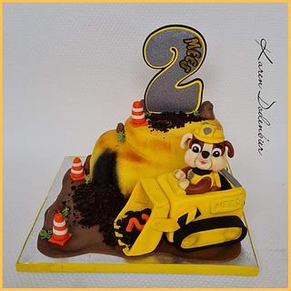 Rubble grader cake - Cake by Karen Dodenbier