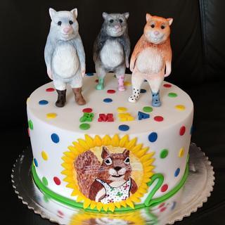"""Dedoles"" - Cake by OSLAVKA"