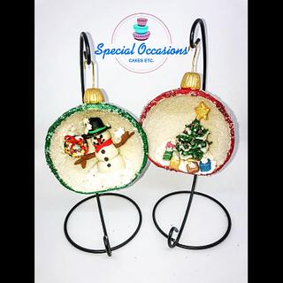 Homemade Christmas Decorations  - Cake by Special Occasions - Cakes, Etc