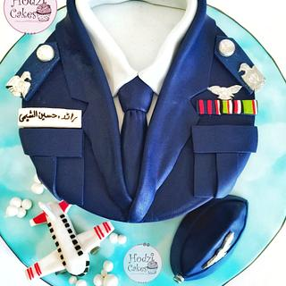 Egyptian Squadron Leader Cake🛩💙