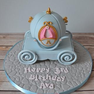 Cinderella Carriage cake - Cake by AMAE - The Cake Boutique