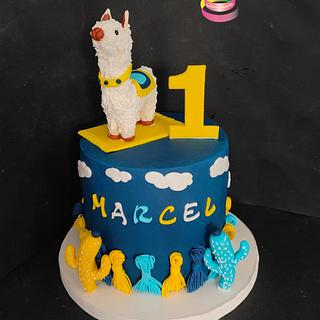 First Birthday cake - Cake by Ruth - Gatoandcake