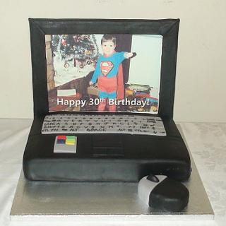 Laptop Cake - Cake by jaimiec