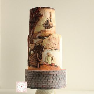 Picturesque Blissful Harmony - Cake by Tamanna Chatterjee