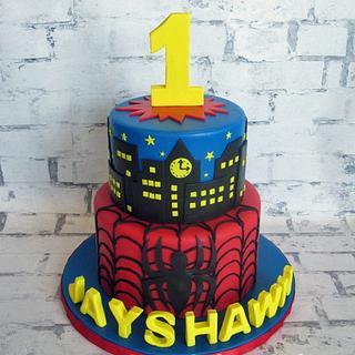 Spider Man 1st Birthday